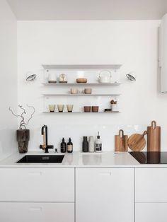 Kitchen Interior, Floating Shelves, House, Design Shop, Home Decor, Deco, Decoration Home, Home, Room Decor
