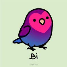 Bisexual Pride, Gay Pride, Bi Memes, Lgbt Flag, Lgbt Community, Cute Drawings, Happy, Humor, Outfits