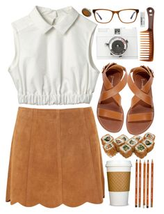 """Ginger"" by child-of-the-tropics ❤ liked on Polyvore featuring Joie, Goody, Lomography and Toast"