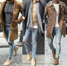 Cool and Trendy Winter Fashion Style Ideas for Men Winter Outfits Men, Stylish Mens Outfits, Casual Outfits, Men Casual, Simple Outfits, Fashion Mode, Mens Fashion, Fashion Vest, Guy Fashion