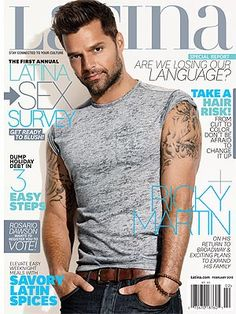 Ricky Martin - one of my long-time celebrity crushes