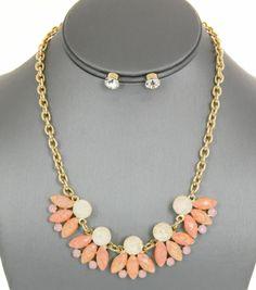 Opal Shourouk Gemstone Necklace Set