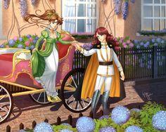 ♡ Love ♡ - kino, romantic, anime couple, anime, blossom, flower, sweet, dress, couple, brown hair, female, makoto kino, makoto, guy, long hair, nice, male, beauty, beautiful, lovely, romance, sailormoon, sailor moon, girl, boy, pretty, kino makoto, sailor jupiter, anime girl, gown