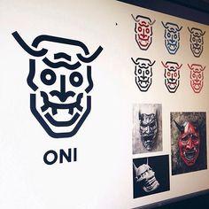 Logo inspiration:   Oni Mask by @cfowlerdesign   Hire quality logo and branding designers at Twine. Twine can help you get a logo, logo design, logo designer, graphic design, graphic designer, emblem, startup logo, business logo, company logo, branding, branding designer, branding identity, design inspiration, brandinginspiration and more.