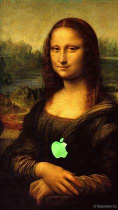 Mona Lisa <3 iSzerelés háttérkép - Mona Lisa <3 iSzerelés -  iPhone 6 ©iSzerelés www.iszereles.hu