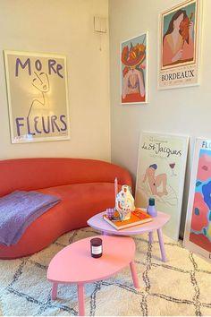 I'm Moving Into a New Apartment—5 Home Décor Trends I'm Adding to Cart Room Design Bedroom, Room Ideas Bedroom, Bedroom Decor, Pastel Room, Pastel Decor, Dream Apartment, Retro Apartment, Aesthetic Room Decor, Dream Rooms