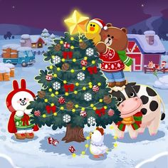 "image by Jean ( with caption : "" - 1670967537629462598 Cony Brown, Brown Bear, Wallpaper Iphone Cute, Screen Wallpaper, Merry Christmas, Xmas, Good Morning Love, Line Friends, Milk Tea"