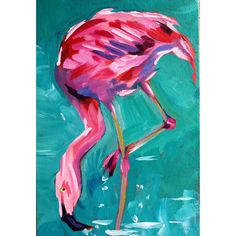 Gallery - Sari Not Sorry Art by Sari Shryack Flamingo Painting, Flamingo Art, Paintings I Love, Animal Paintings, Firework Stands, Wall Hanging Photo Frames, Red Orchids, Art Lessons, Art Inspo