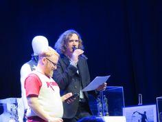 Dan and Robert Shaw (aka Webbie), hosting the Pub Quiz Robert Shaw, Darkness, Dan, Concert, Recital, Concerts