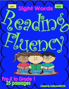 Sight+Words+Reading+25+passages+Pre-K+to+First+Grade+Literacy+Centers+Early+Finishers+from+Kimberly+Sullivan+on+TeachersNotebook.com+-++(40+pages)++-+25+mini+stories+for+your+kids+to+enjoy!+Sight+word+flash+cards+and+word+builder+letters! Pre-K+to+First+Grade!+Fun+reading+passages+with+cute+clip+art+!