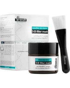 Dr. Brandt Needles No More 3-D Filler Mask: Plump Up The Volume! Prime Beauty Blog