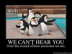 Love the Penguins of Madagascar - Skipper, Kowalski, Rico, and Private