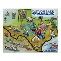 Make one-of-a-kind gifts with these designs! Texas Vacations, Vacation Trips, Kerrville Texas, Burnet Texas, Canyon Lake Texas, Only In Texas, Moving To Texas, Texas Pride, Lone Star State