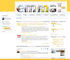 """Sind stolz auf unser internes SocialNet """"achtung! emma"""".  Wissens-, Info- und Arbeitsinstrument. Wird eifrig genutzt."""