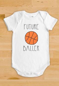 Basketball Baby Onesie - Future Baller