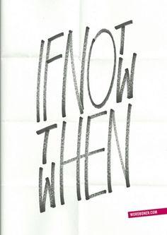 si no es ahora...