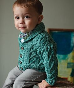 looks like a sweater I knitted. so handsome.