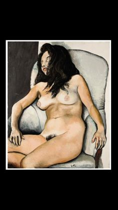 """Renato Guttuso - """" Nudo addormentato  """", 1960 - Olio su tela - 101 x 81 cm"""