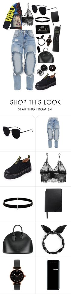 """""""90´s"""" by mode-222 ❤ liked on Polyvore featuring Anine Bing, Lynn Ban, Cross, Calvin Klein 205W39NYC, Bobbi Brown Cosmetics, Emporio Armani, Smeg and M.Y.O.B."""