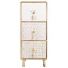 Petit meuble de rangement 3 tiroirs | Maisons du Monde