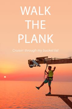 Want to experience the thrill of a lifetime? Step up to the plank! Learn more at ncl.com