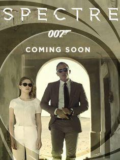 Lea Seydoux and Daniel Craig, Spectre