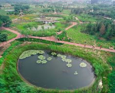 Landscape architecture: Turenscape (Beijng Turen Design Institute) Location: Tianjin City, China Area: 22ha Design: October 2005 – May 2008 Complete: 2008 Owner/Client: Environment construction and Investment Co., Ltd, Tianjin City
