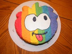 Mikey will totally dig this puffle cake