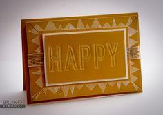 Bruno Bertucci | Stampin Up | stampinbruno | Happy | Celebrations Duo | Urban Underground | Handmade Card