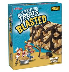 I'm learning all about Rice Krispies Treats Blasted Buttery Toffee at @Influenster!