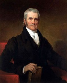 US Supreme Court Justice John Marshall. Every good historian needs a good historical crush.