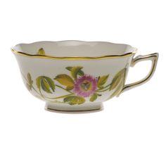 Herend American Wildflowers Passion Flower Tea Cup