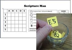 Great site with LOTS of helps for Scripture Mastery and Seminary. SCRIPTURE MAN picture in this pin.