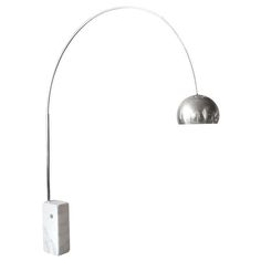 """1960's """"Arco"""" Floor Lamp for FLOS by A. & P. Castiglione 