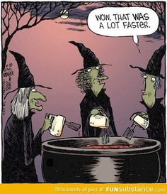 Funny cartoon to use when reading Macbeth