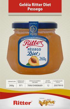 Geléia Ritter Diet Pêssego 260gr