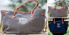 Monogram Fall Weekender Bags | 7 Styles | Jane