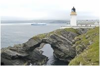 Kirkabister Ness Lighthouse  Shetland Islands