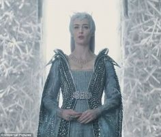Emily Blunt plays little sis Freya, an ice queen who brings Theron back from the dead