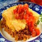 Turkey Cornbread Casserole - This quick South-of-the-Border casserole will add some zip to the end of a long day.