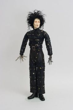 Edward Scissorhands - Wax Art Doll by Paul Crees and Peter Coe