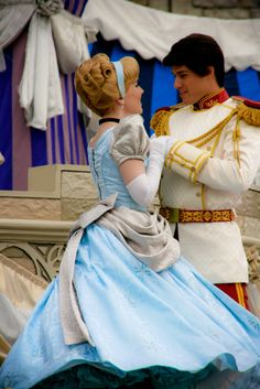 Cinderella and her Prince!