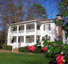 Stately Oaks Plantation In Jonesboro, Georgia May Have Been A Major Inspiration For Margaret Mitchell's Fictional Tara Plantation