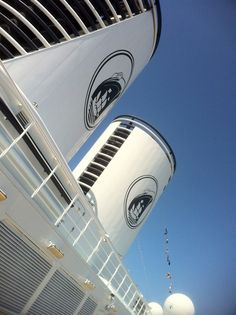 Iconic stacks of @HALCruises Oosterdam #cruise #HALCRUISES