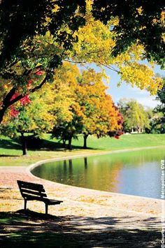 Byrd Park Lake, Richmond, Virginia. USA