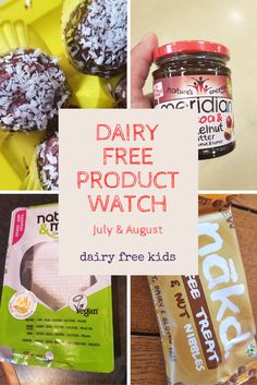 New dairy free products on the shelves of supermarkets and health stores!
