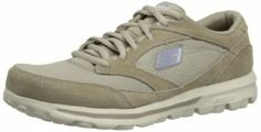 Skechers Women's Go Walk Walking Shoe,Stone,8.5 M US