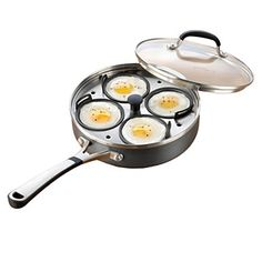 Simply Calphalon Nonstick 4 Cup Egg Poacher & Lid - Cookware - Kitchen - Home - Bloomingdale's