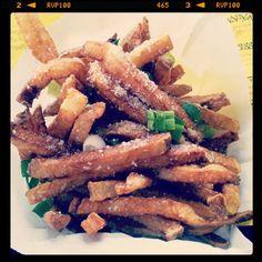 Truffle Fries @ Bernie's Burger Bus  Houston, Tx