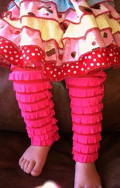 Cupcake skirt  06 months  4T  valentines day  by splasheroo, $39.00